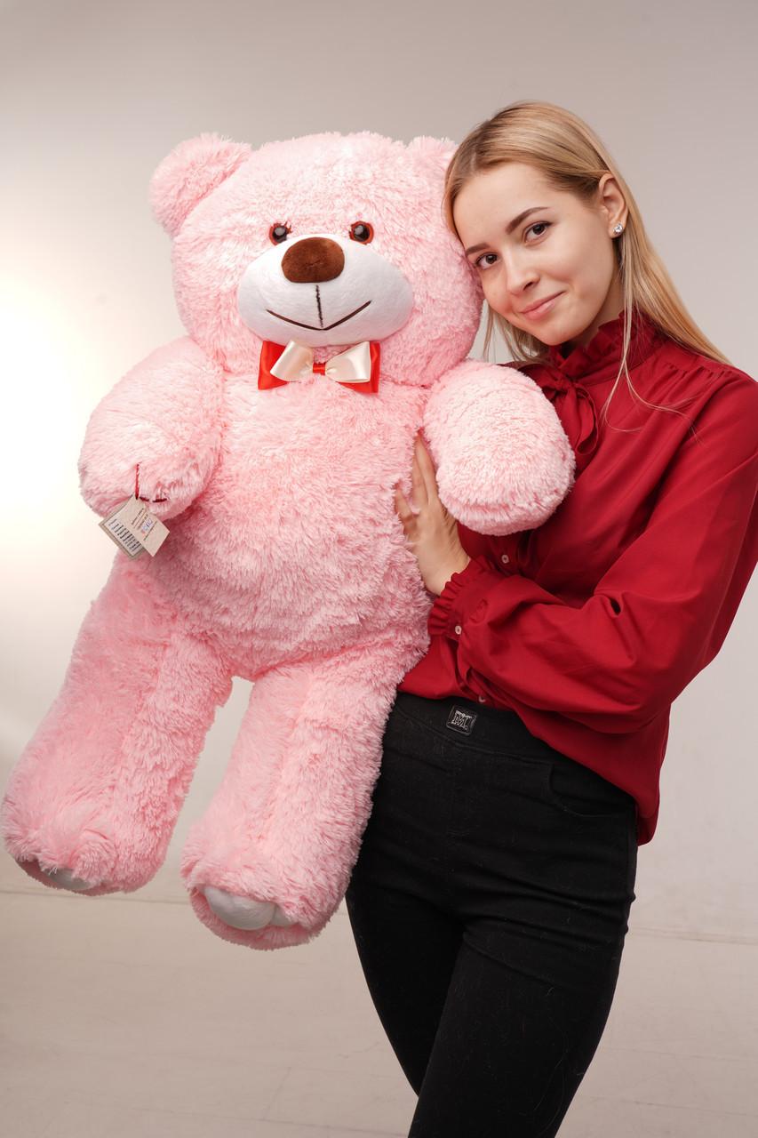 Мишка плюшевый Yarokuz Джон 110 см Розовый
