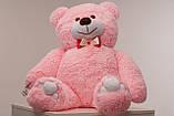 Мишка плюшевый Yarokuz Джон 110 см Розовый, фото 5