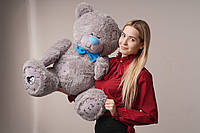 Мишка плюшевый Yarokuz Me To You 100 см Серый, фото 1