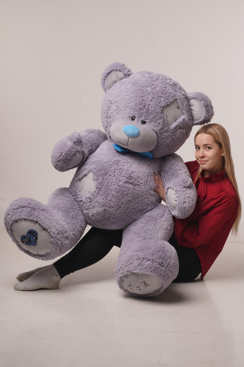 Мишка плюшевый Yarokuz Me To You 160 см Серый