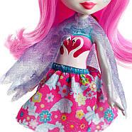 Enchantimals Лебідь Саффі і один Пойз Enchantimals Saffi Swan Doll & Poise, фото 7