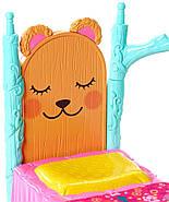 Энчантималс Игровой набор  Спальня Медведицы Брен и друга Снор  ОРИГИНАЛ ОТ MATTEL, фото 5