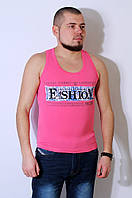Майка мужская розовая размер М WEIWEI 1989-4
