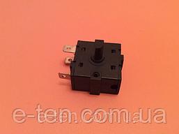 Перемикач потужності на 3 робочих положення - 3 виходи (контакти 3+0) / 16A / 250V для обігрівачів,камінів