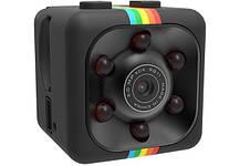 Мини экшн камера SQ11 1920*1080P Full HD с инфракрасной LED подсветкой черная С записью звука, фото 3