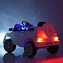 Детский электромобиль Джип M 2788 EBLRS-2, Mercedes G80, Кожа, EVA резина, Амортизаторы, черный лак, фото 6