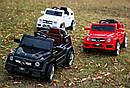 Детский электромобиль Джип M 2788 EBLRS-2, Mercedes G80, Кожа, EVA резина, Амортизаторы, черный лак, фото 4