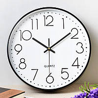 Часы настенные бесшумные Losso Premium - Белые