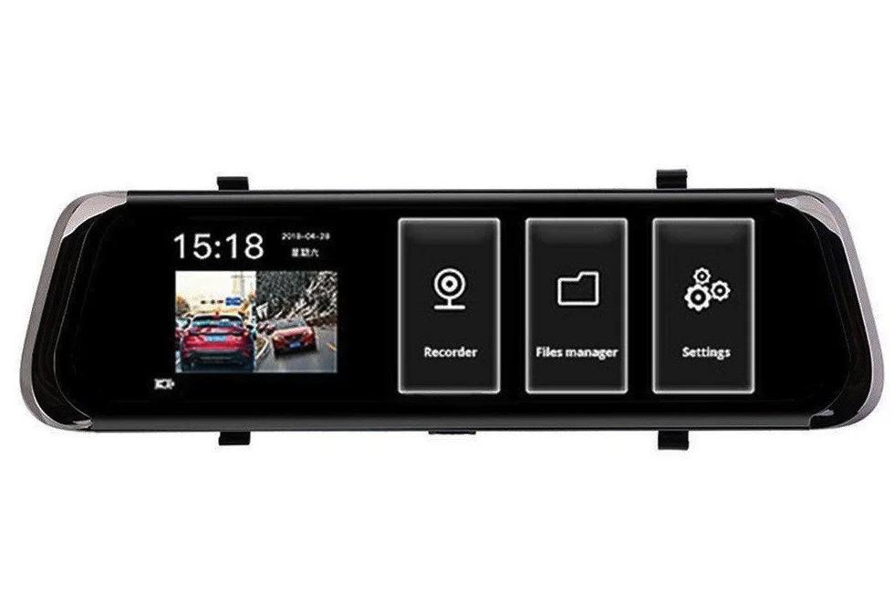 "Зеркало заднего вида с видео регистратором DVR L1023 Full HD 9.66"""