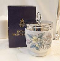 Фарфоровый кодлер на два яйца, King size, Royal Worcester, фарфор, Великобритания, фото 1