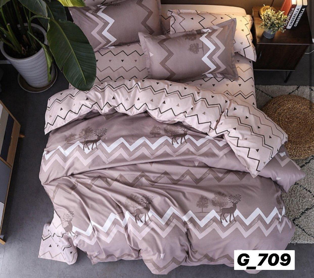 Постельное двуспальное бельё из высококачественного плотного хлопка