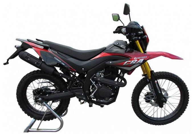 Мотоцикл FORTE FT250GY-CBA красно-черный, фото 2