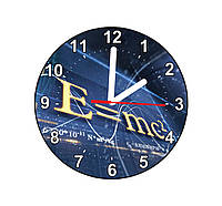 "Настенные часы ""С=MC2"""