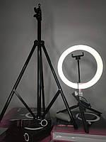 НАБОР БЛОГЕРА Maximum: Лампа + 2 штатива + селфи палка + кнопка блютуз