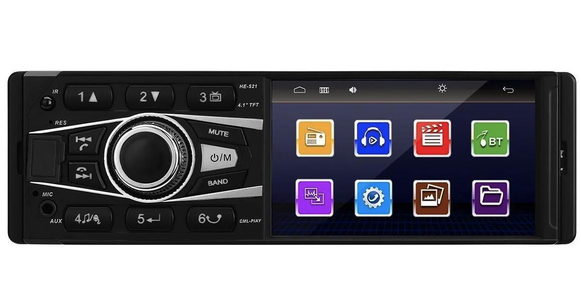 """Автомагнітола 4042 Bluetooth,4,1"""" LCD TFT USB+SD DIVX/MP4/MP3"""