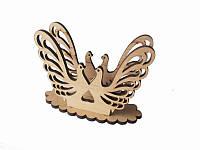 Салфетница деревянная Голуби  (Cалфетницы из дерева )