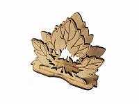 Салфетница Кленовые листья  (Cалфетницы из дерева )