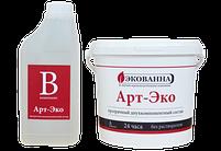Эпоксидная смола прозрачная  АРТ-ЭКО 10кг., фото 2