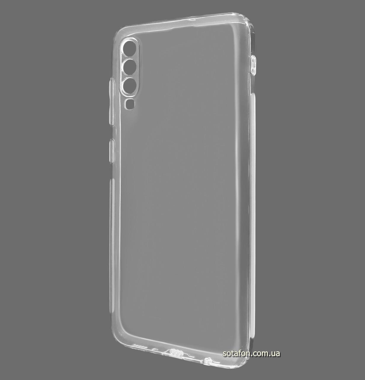 Силиконовый чехол KST Ultra-thin на Samsung Galaxy A30s SM-A307F Clean Grid Transparent