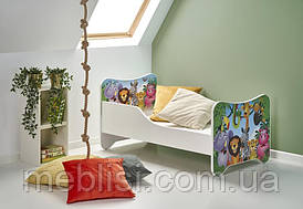 Кровать детская с матрасом HAPPY JUNGLE Halmar