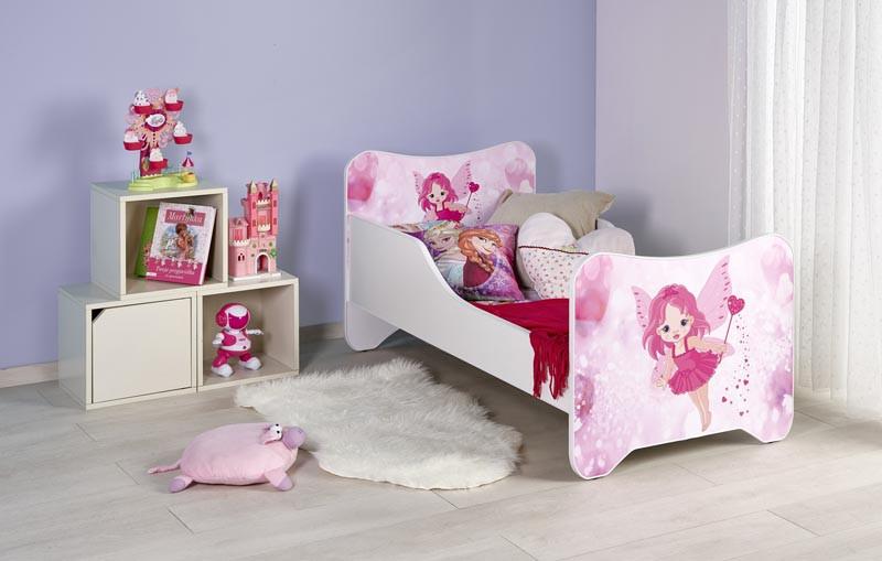 Ліжко дитяче з матрацом HAPPY FAIRY Halmar