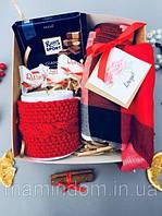 Подарочный набор Теплый презент. Подарок на 14 февраля