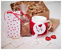 Подарочный набор Love Coffe. Подарок на 14  февраля