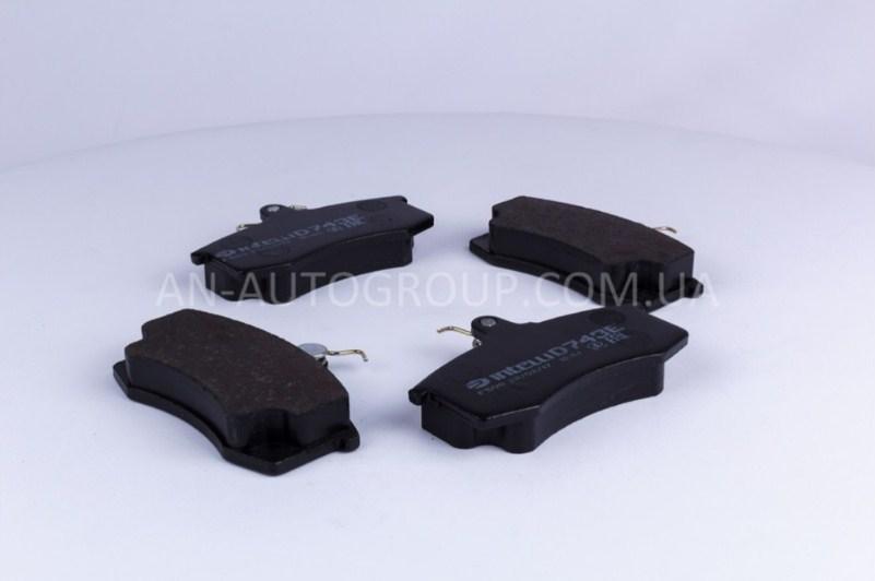 Колодка передняя тормозная 2108, 2109, 21099 Дафми Интелли комплект