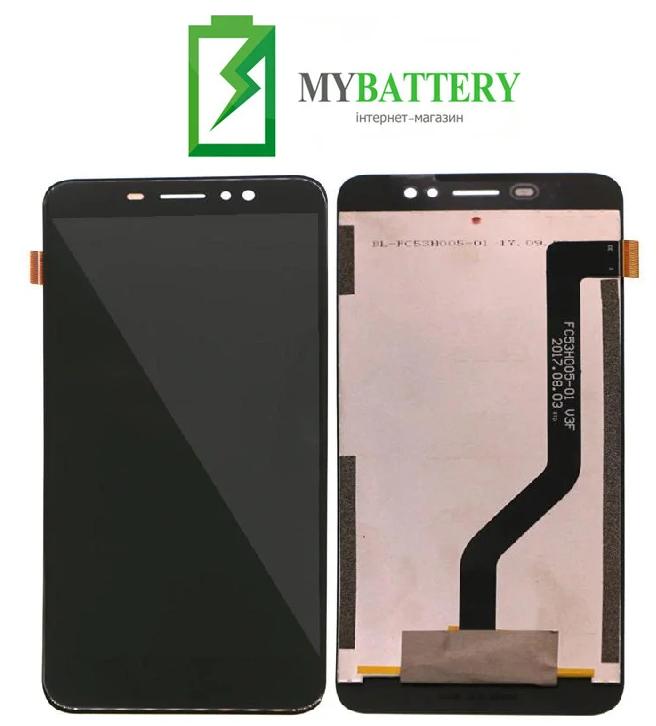 Дисплей (LCD) Ulefone S8/ S8 Pro (длинный шлейф) с сенсором черный