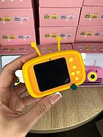 Детский цифровой фотоаппарат Smart Kids 4 серия с фронтальной камерой 20MP Full HD 1080P (Funny Bee Orange)