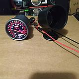 6604 LED Тиск масла стрілочний діам.60мм. чорний в корпусі, фото 3