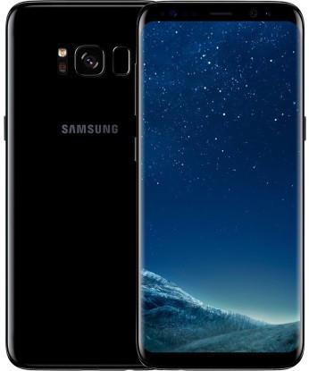 "Смартфон Samsung Galaxy S8 (SM-G950FD) 64gb DUOS Black, 12/8Мп, 5.8"", Exynos 8895, 3000mAh, 12 міс"