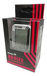 Велокомп'ютер ASSIZE AS-7000 багатофункціональний безпровідний