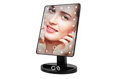 Дзеркало для макіяжу з LED підсвічуванням Magic Makeup Mirror, 22 ламп, косметичне дзеркало з підсвічуванням