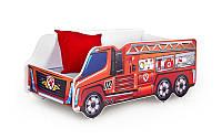 Кровать детская с матрасом FIRE TRUCK Halmar