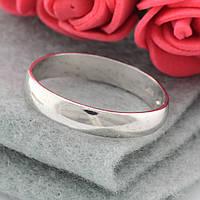 Серебряное Обручальное кольцо 1198 вес 3.6 г размер 23.5