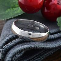 Серебряное Обручальное кольцо 1198 вес 3.6 г размер 15