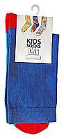 Повседневные носки детские Kids Socks V&T classic ШДКг 132--024-0405 Цветной след р.20-22 Синий/красный