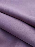 Льняная ткань для постельного белья розово - бисквитного цвета (шир. 260 см), фото 1