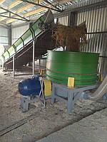 Измельчитель соломы и сена