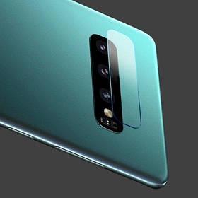 Защитное стекло на заднюю камеру для Samsung Galaxy S10e