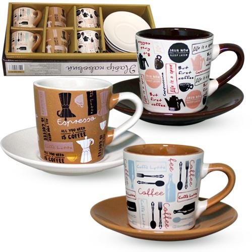 Набор кофейный 12 предметов Кулинар SNT 1533-17