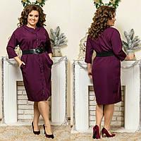"Стильне плаття для пишних дам ""Креп"" Dress Code, фото 1"