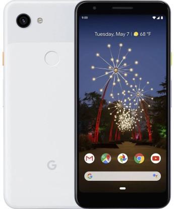 "Смартфон Google Pixel 3a 4/64GB Clearly White, 1sim, Snapdragon 670, экран 5.6"" OLED, 12.2/8 Мп, NFC, 4G (LTE)"