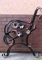 Комплект боковин для лавки Подсолнух, фото 1