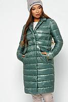 Модная легкая комфортная Куртка женская демисезонная X-Woyz 8867 Размеры 42- 48 Цвет изумруд