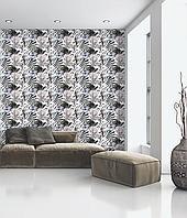 Фотообои Обаяние цветов дизайнерские в стиле Прованс Glamorous Flower 150 см х 150 см