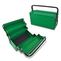 Инструментальный ящик  5 секций, сумка, органайзер, инструментальный, автомобильный TOPTUL TBAC0502