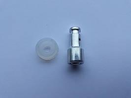 Клапан запирания с уплотнительной резинкой