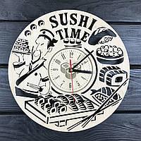 Тематические интерьерные настенные часы «Суши», фото 1